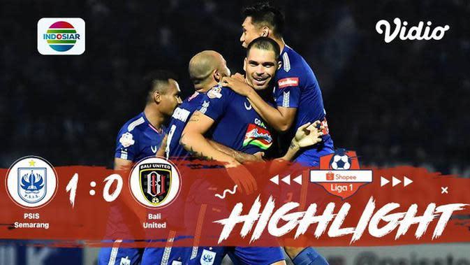 Full Highlight - PSIS Semarang 1 vs 0 Bali United FC | Shopee Liga 1 2019/2020