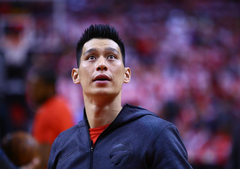 Veteran point guard Jeremy Lin won a ring with the Toronto Raptors. (Getty Images)