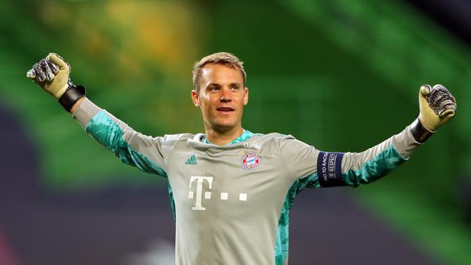 Manuel Neuer (Bayern Munchen) - Finalis UEFA Men's Player of the Year. (AFP/Miguel A. Lopes/pool)