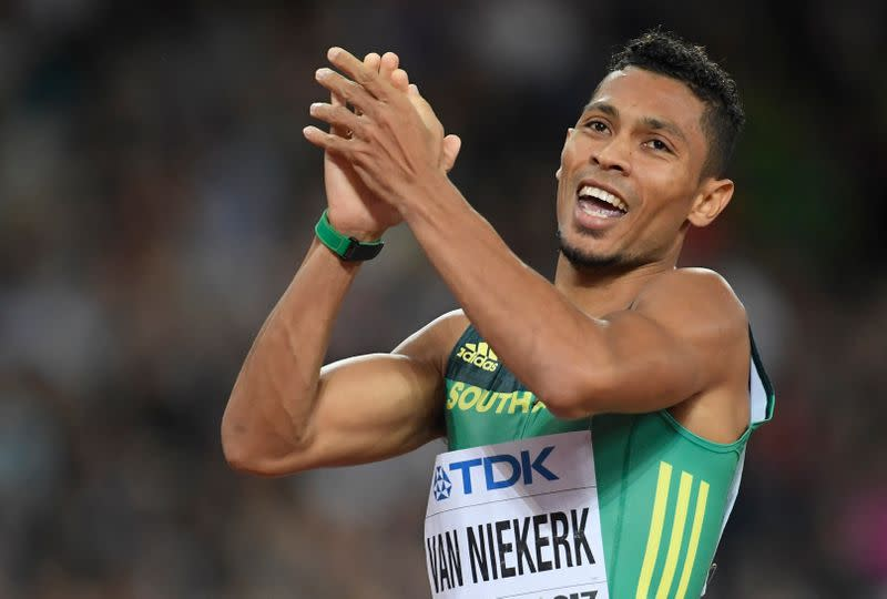 Athletics: Injury-free Van Niekerk set to make return to European competition