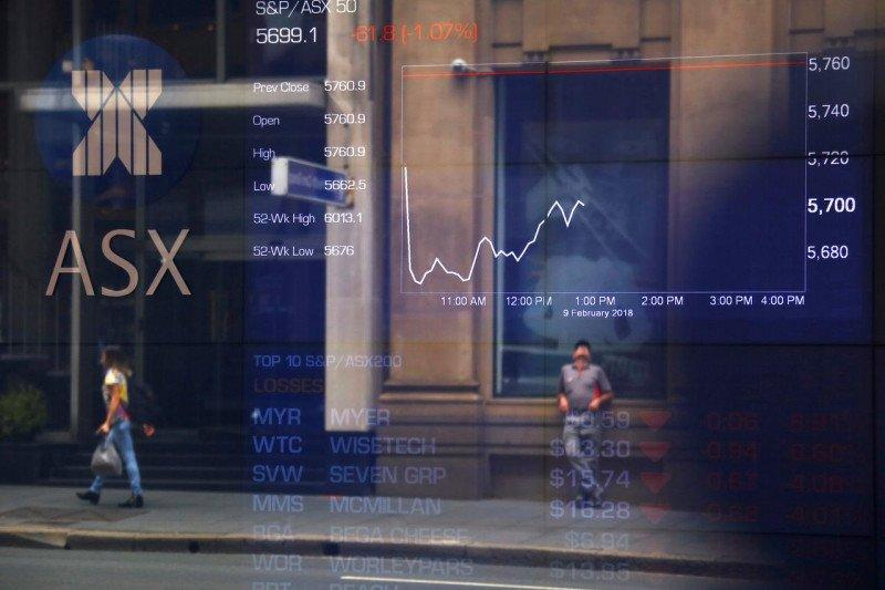 Ditutup turun, saham Australia hentikan kenaikan enam hari beruntun