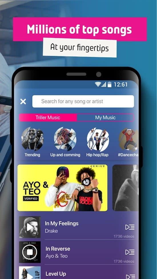 best tiktok alternative apps triller2
