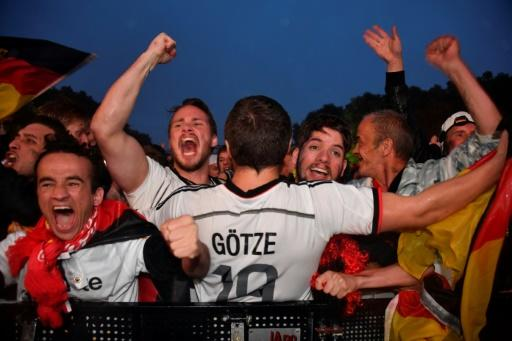 Germany supporters in Berlin were in ecstasy after their team salvaged their World Cup chances
