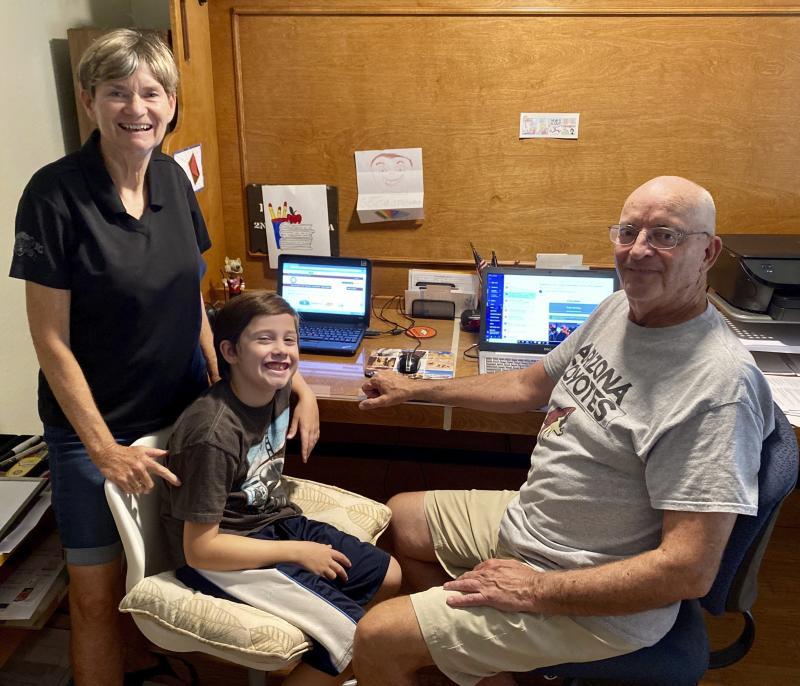 Virus Outbreak-Grandparent Helpers