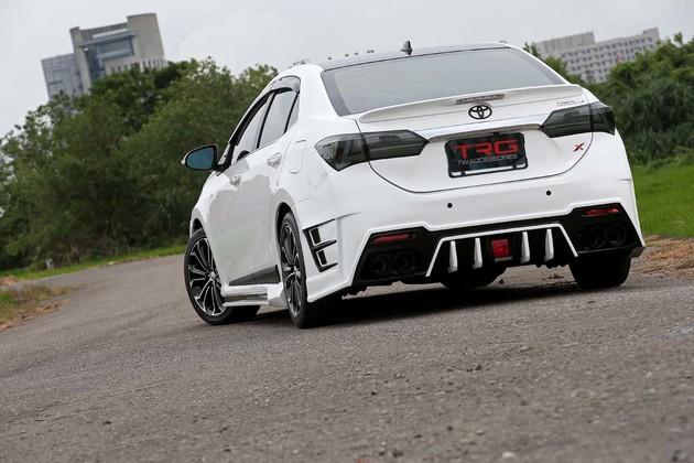 Toyota New Altis 11th 泰版大包也可以很V.I.P