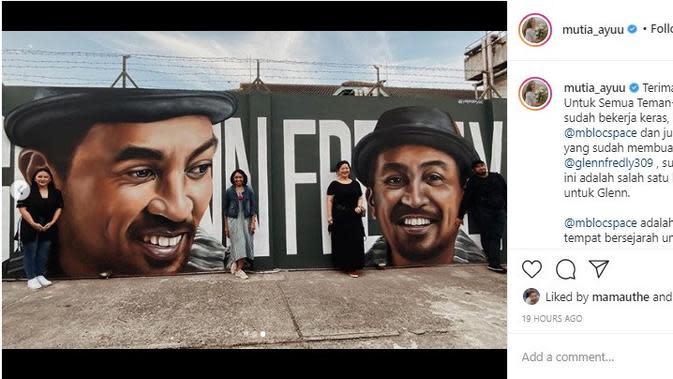 Glenn Fredly (Foto: Instagram/@mutia_ayuu)