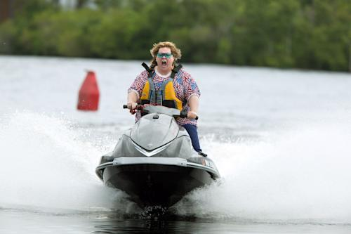 """This image released by Warner Bros. Pictures shows Melissa McCarthy in a scene from """"Tammy."""" (AP Photo/Warner Bros. Pictures, Michael Tackett)"""
