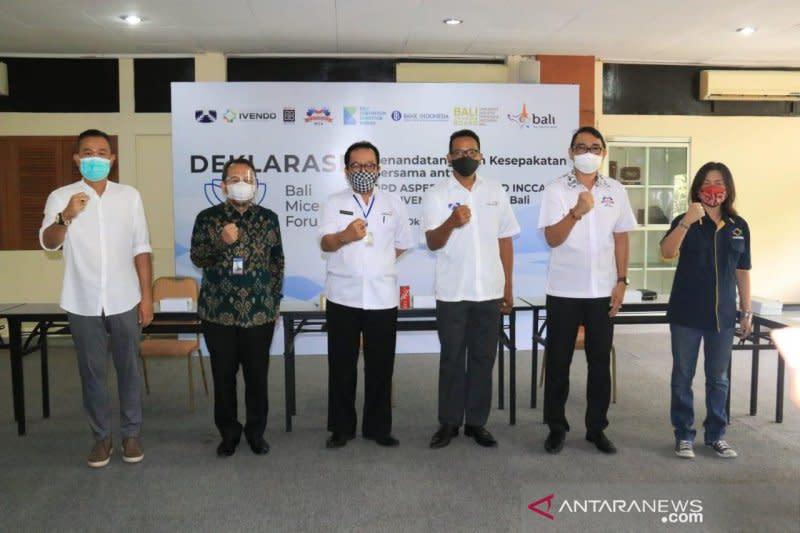 Pemprov Bali dan BI dorong asosiasi bersatu bangkitkan MICE