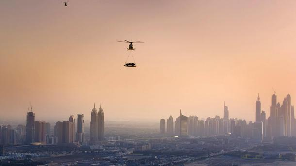 Aston Martin goes high over Dubai