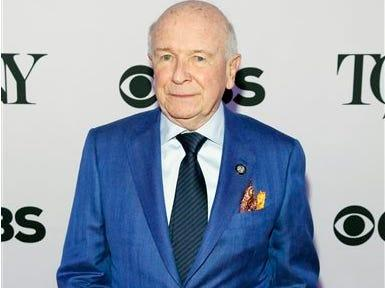FILE - In this April 29, 2015 file photo, Terrence McNally attends the 2015 Tony Awards Meet The Nominees Press Junket in New York. The Dramatists Guild Fund said Wednesday, Feb. 24, 2016, that McNally, Paula Vogel, composing team Lynn Ahrens and Stephen Flaherty and playwrights Anna Ziegler, Lauren Yee and Chisa Hutchinson will be Traveling Masters, offering writing workshops, master classes, talkbacks and other public events and making appearances in several states. (Photo by Andy Kropa/Invision/AP, File)