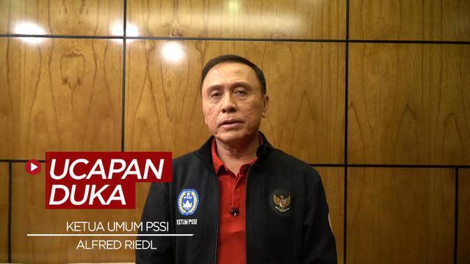 VIDEO: Ketua Umum PSSI Sampaikan Duka Cita Atas Meninggalnya Alfred Riedl
