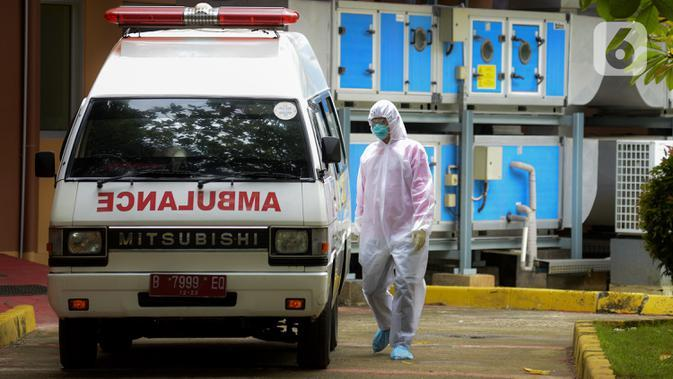 Diduga Nyaris Terserempet, Pengendara Motor Cegat Ambulans di Depok Viral