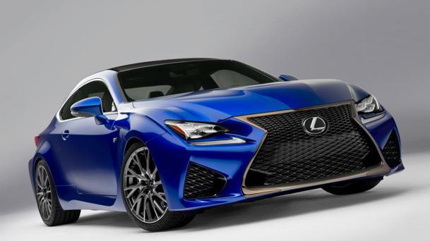 Lexus RC F coupe revealed with brand's most powerful V-8