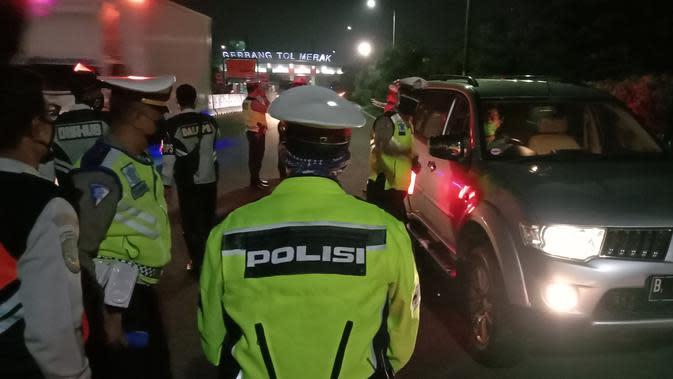Ambyar Rp400 Ribu Ongkos Mudik ke Lampung, Dicegat Polisi di Cilegon