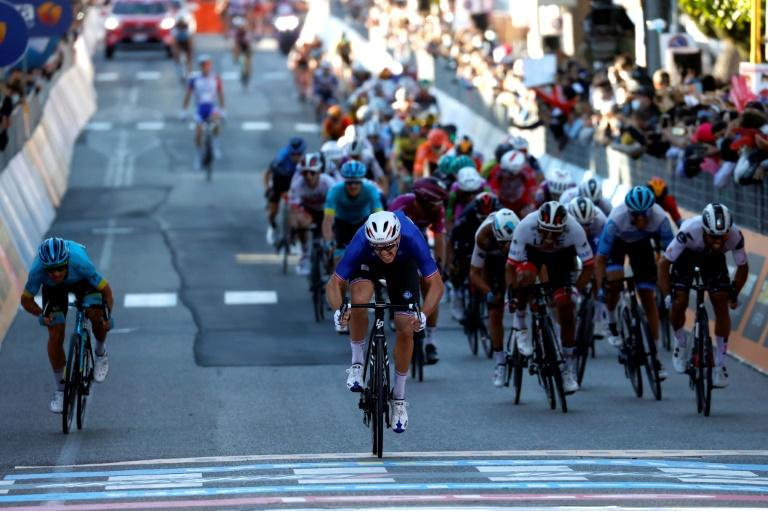 France's Demare doubles up with Giro 6th stage win, Almeida retains lead