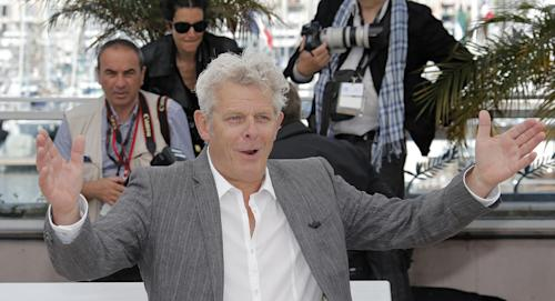 Director Alex Van Warmerdam poses for photographers during a photo call for the film Borgman at the 66th international film festival, in Cannes, southern France, Sunday, May 19, 2013. (AP Photo/Lionel Cironneau)