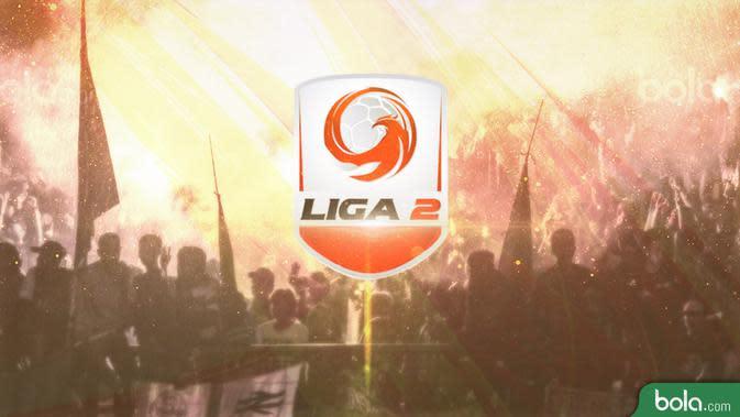 Logo Liga 2 Indonesia (Bola.com/Adreanus Titus)