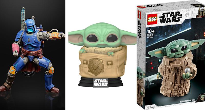 A selection of new products that will be available on Mando Mondays this autumn. (Disney/Lucasfilm)