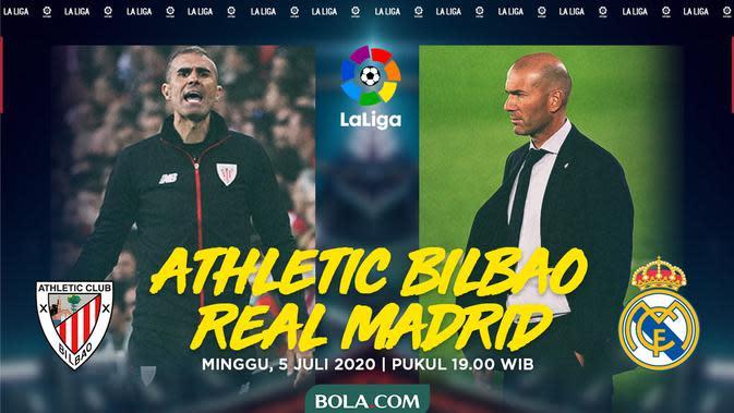 La Liga - Athletic Bilbao Vs Real Madrid - Head to Head Pelatih (Bola.com/Adreanus Titus)
