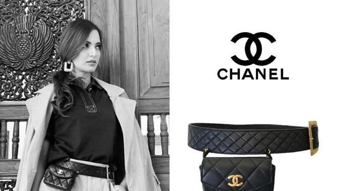 Tas merek Chanel berikut sabuknya dengan harga sangat mahal (Dok.Instagram/@fashion_ramadhania_bakrie/https://www.instagram.com/p/BznF7fQHBin/Komarudin)