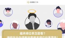 【立專欄/法律010】遺產怎麼繼承?全部給小兒子可以嗎?