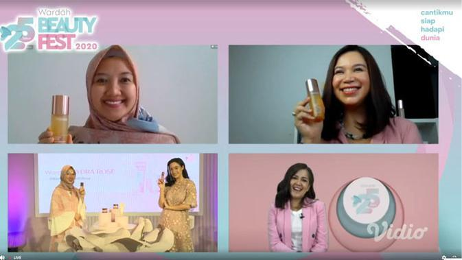 Virtual launching Signature Series Wardah Hydra Rose