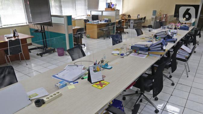Disnaker DKI: Karyawan Terpapar Covid-19, Kantor Akan Ditutup Selama 3 Hari