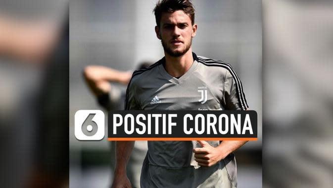 VIDEO: Pemain Juventus, Daniele Rugani Positif Terinfeksi Corona