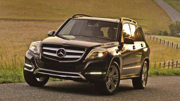 The 2013 Mercedes-Benz GLK, reanimated: Motoramic Drives