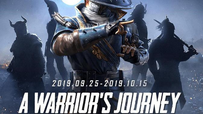 PUBG Mobile gelar warrior's journey dari 25 September hingga 15 Oktober 2019. (Ist)