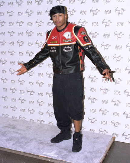 LL Cool J Wasn't the First to Roll Up One of His Pant Legs