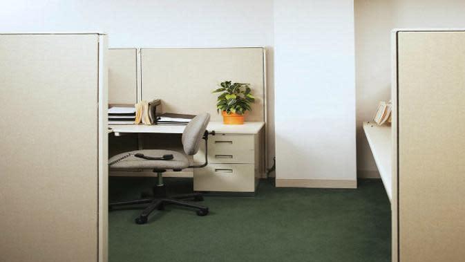 Ilustrasi kantor.
