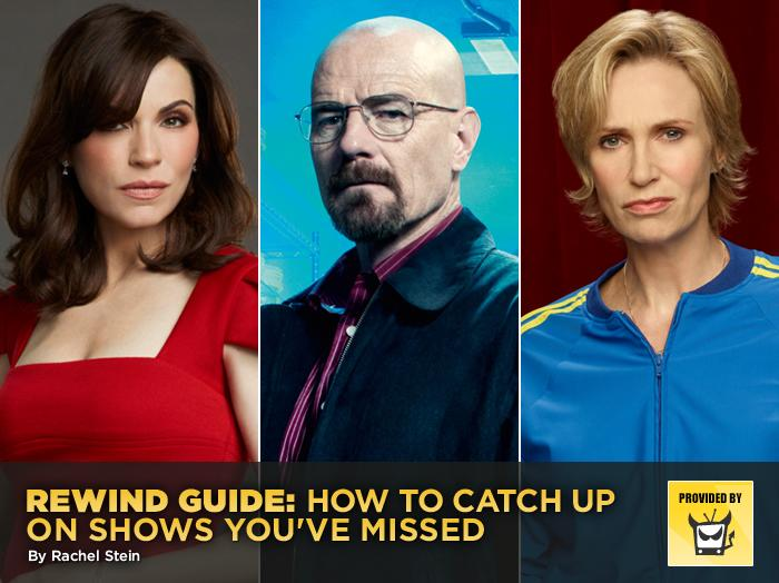 Rewind Guide: How to Catch Up on Shows You've Missed