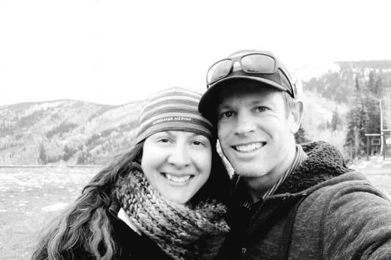 A GoFundMe has been set up to support Skye Deutschbein (left) after her husband Nathan Deutschbein's (right) death.