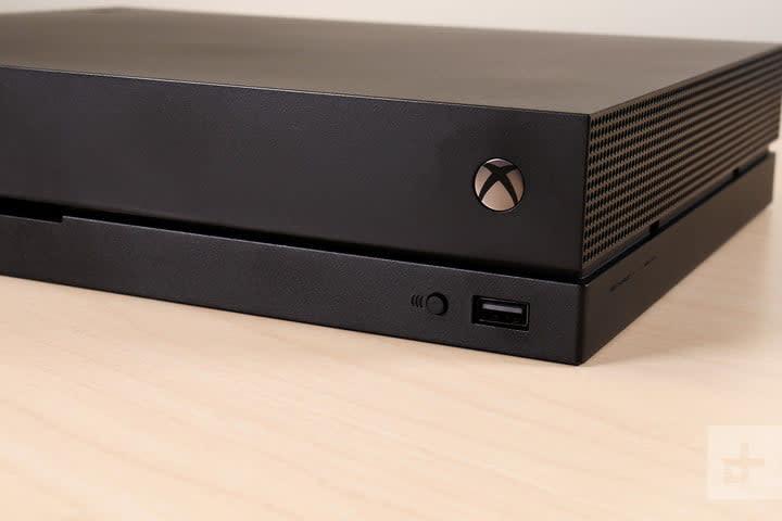 Xbox One X review logo