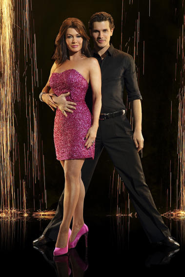 """Dancing with the Stars"" Season 16 LISA VANDERPUMP, GLEB SAVCHENKO"