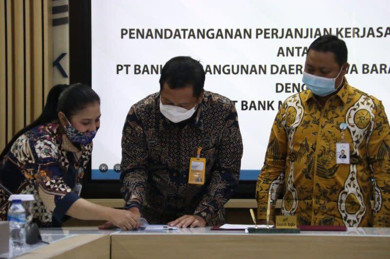 Bank BJB-Bank Mantap sinergi penyaluran kredit Rp500 miliar