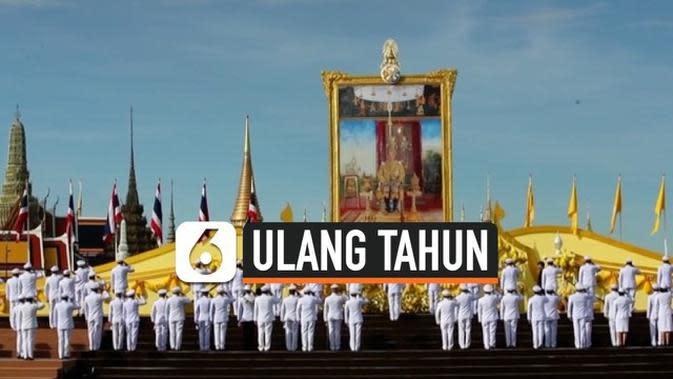 VIDEO: Thailand Rayakan Ulang Tahun Raja Vajiralongkorn