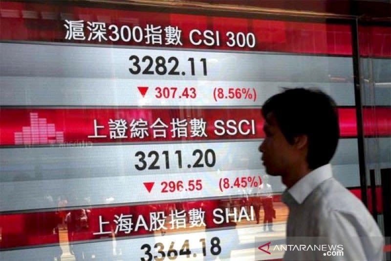 Saham China melemah tertekan kekhawatiran kenaikan kasus baru COVID-19