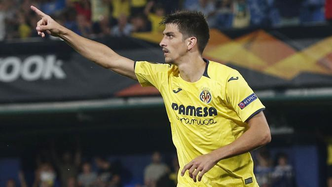 4. Gerard Moreno (Villarreal) - 11 Gol. (AFP/Pau Barrena)