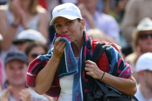 Halep admitted she lacked the focus to finish off Hsieh