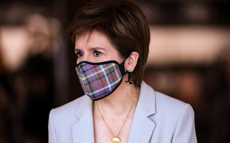 Nicola Sturgeon has said she is concerned about potential importation of the virus from other parts of the UK