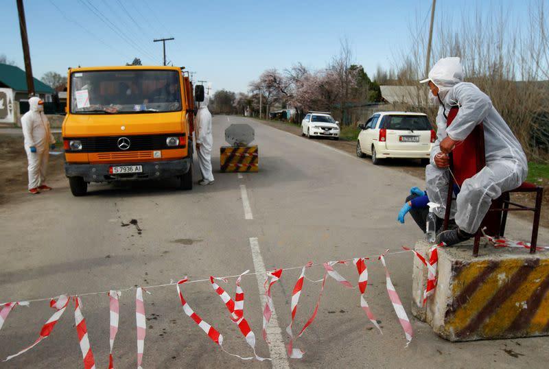 Kyrgyzstan to ease coronavirus restrictions