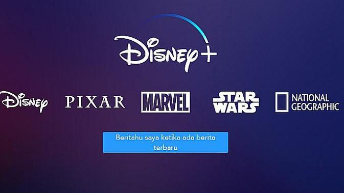 Disney+ (screenshot situs web Disney+)