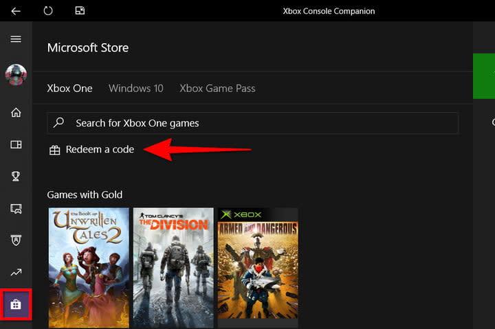 Xbox Companion App Redeem Code