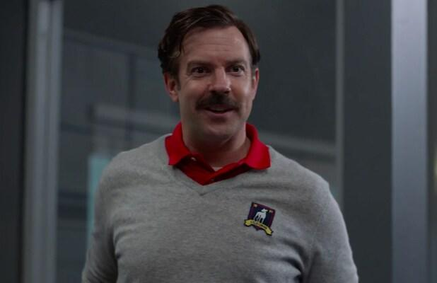 A Clearly Frazzled Ted Lasso Is Ready to Bathe – but Definitely Not Bury – Himself in His Work (Exclusive Video)