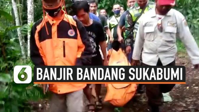 VIDEO: 3 Korban Banjir Bandang Sukabumi Ditemukan