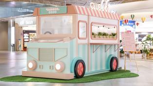 商場一周年主題活動 甜點打卡車+數碼互動遊戲+Flycation體驗