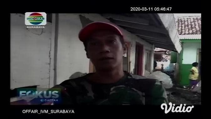 VIDEO: Warga di Banyuwangi Bersama Petugas Gabungan Bersihkan Lingkungan Usai Banjir