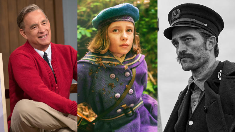 'A Beautiful Day in the Neighbourhood', 'The Secret Garden' and 'The Lighthouse'. (Credit: Sky Cinema)